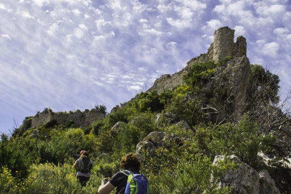 Diumenge, ruta al castell de Borró