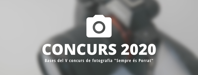 Concurs de fotografia de la Ruta dels Porrats 2020