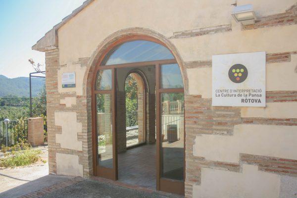 Visites guiades al Centre d'Interpretació de la Pansa (CIP) – Porrat de Sant Macià 2020