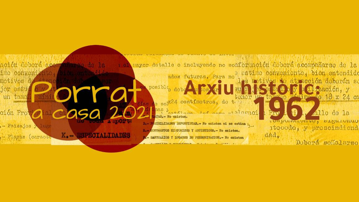 Documents de l'arxiu: el Porrat de Sant Macià, el 1962